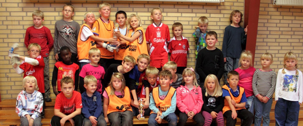 Kampen om fodboldpokalen i indefodbold