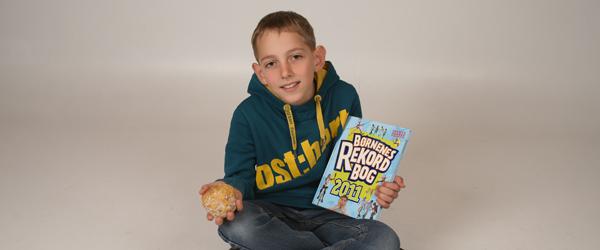 Lokalt navn i børnenes rekordbog for 2011