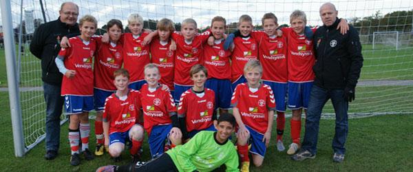 To flotte resultater af Skjold Sæby's U14 Drenge