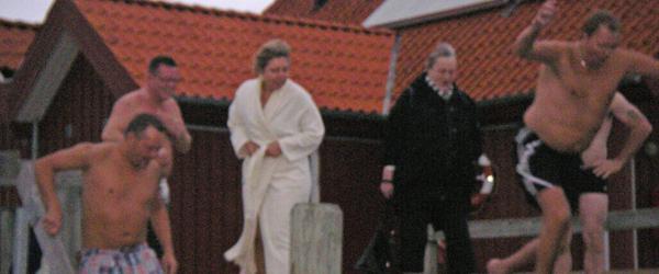 Sæsonstart i Sæby vinterbadeklub