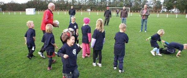 Fodboldafslutning for 4 – 7 årige