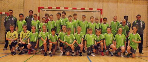Flot opbakning til håndboldskole hos Sæby HK