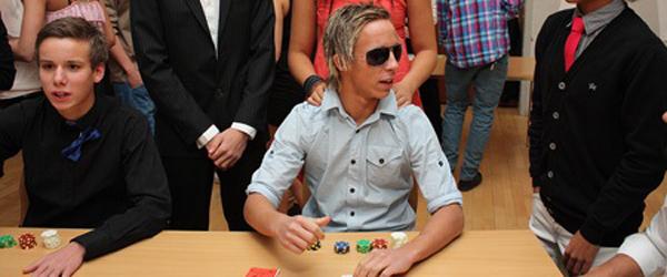 Casinoaften på Nordjyllands Idrætsefterskole Stidsholt