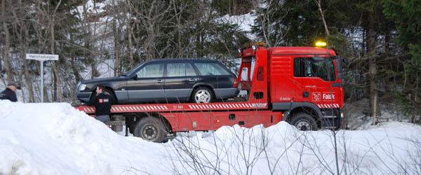 Frysende vejbaner skyld i færdselsuheld