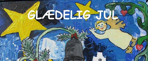 Sæby får nu kunst-julekort om vores dejlige by