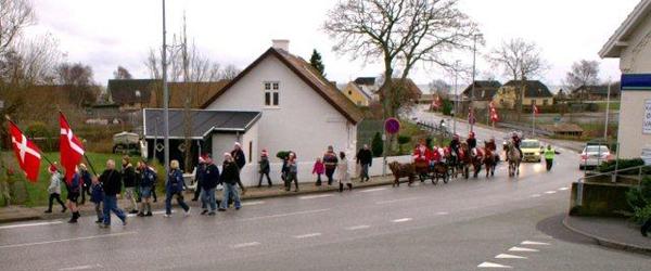 Søndag 28. november tages hul på julen i Voerså