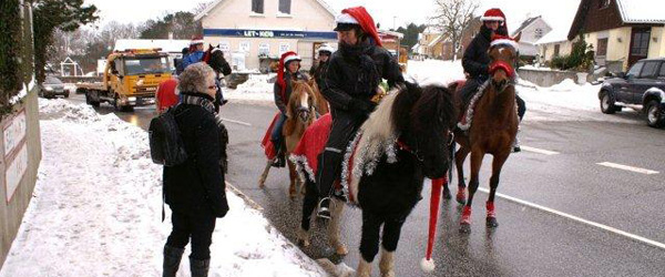 Jul i sne, blæst og kulde 1. søndag i advent