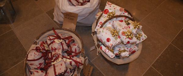 Sæby Rotary Klubs julegavehjælp til børn