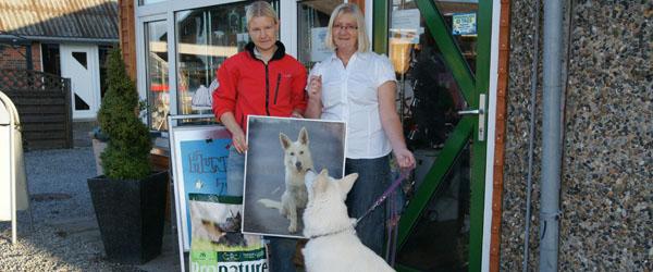 Sæby sødeste hund 2010 blev tæven Inka