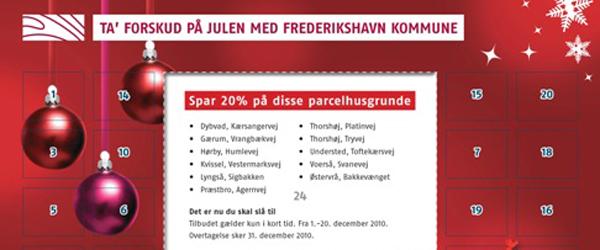 Kommunen giver 20% på parcelhusgrunde