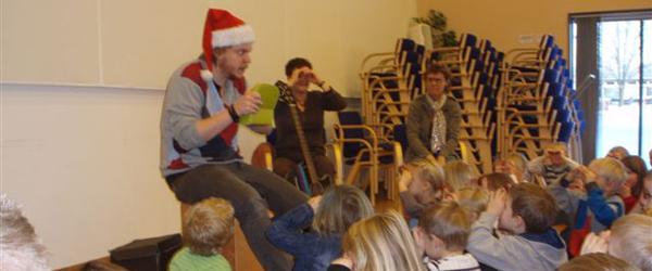 Musikalsk Julelegestue torsdag formiddag