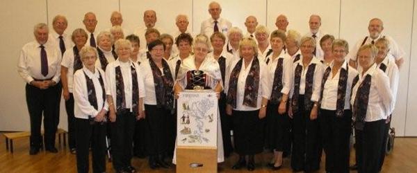 Harmonikaklub og kor i samarbejde