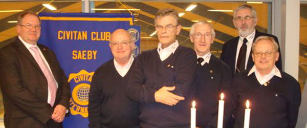 Civitan Club Sæby har fået ny ledelse