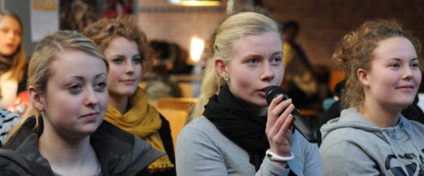 Begivenhedsrig litteratur-uge på Dronninglund Gymnasium