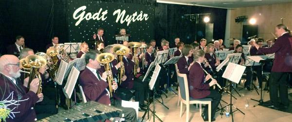 Musikkorps Sæby klar til en anderledes nytårskoncert