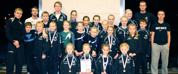 13 medaljer til Sæby ved Spring Cup i Randers