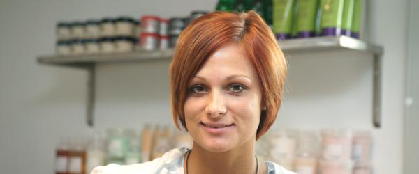Ny lærling hos Hairdresser Lisbeth Kristensen