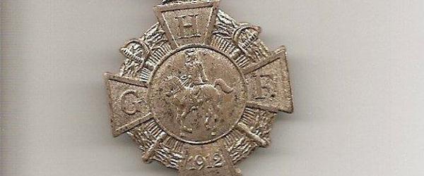 Flot medalje – eller orden fra 1912