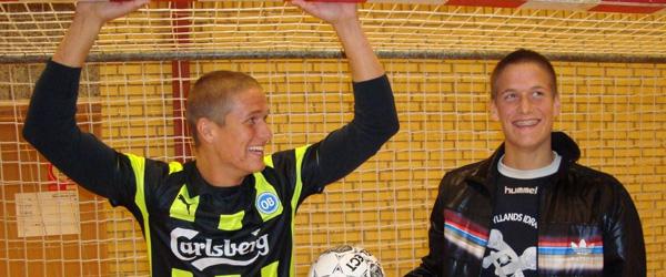 Brødrerne Overlade – klar til DM og gerne landshold i Futsal