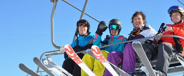 På skitur med Dronninglund Gymnasium til Le Corbier