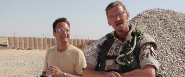 Feltpræst om livet i Afghanistan…