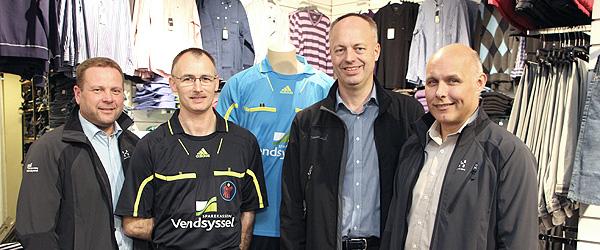 Dommerklubben blev klædt på af Sparekassen Vendsyssel