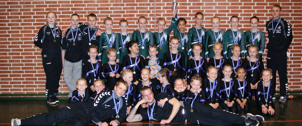 Medaljer så det basker – Sådan Sæby…..