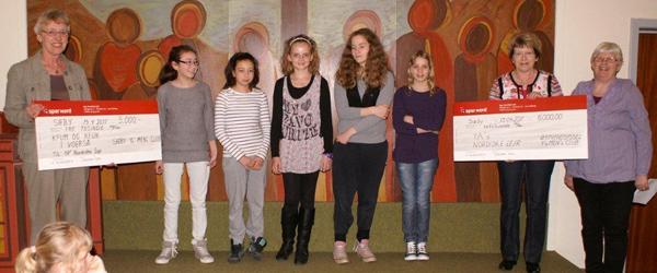 Stort sponsorat til YA-ere fra Voerså missionhus