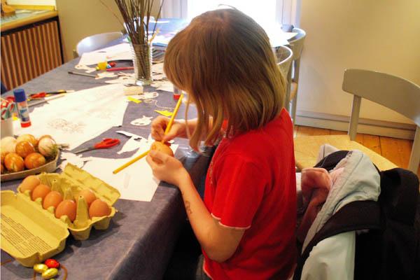 Æggejagt og påskeværksted for børn