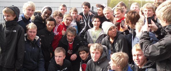 Fodboldspillere fra Stidsholt på udlandstur