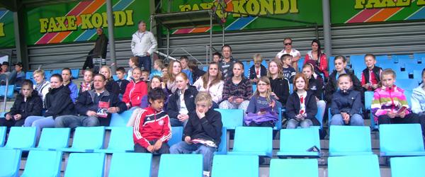 Supertur til ligakamp i Aalborg…..