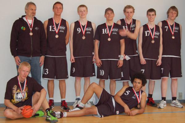 Bronce til Sæby Baskets U-18 herre