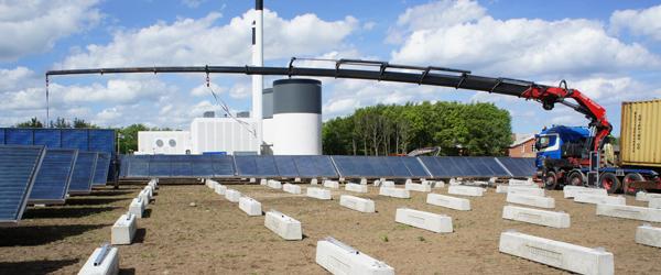Varmeværket etablere nyt solvarmeanlæg i Sæby