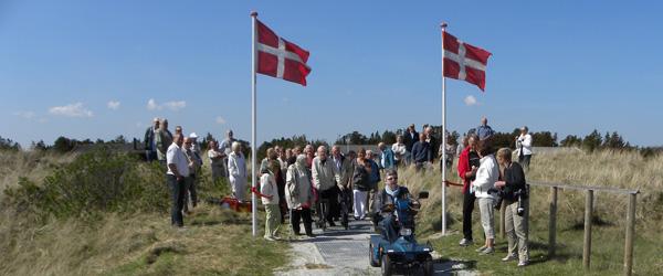 Indvielse af handicapvenlig sti i Lyngså