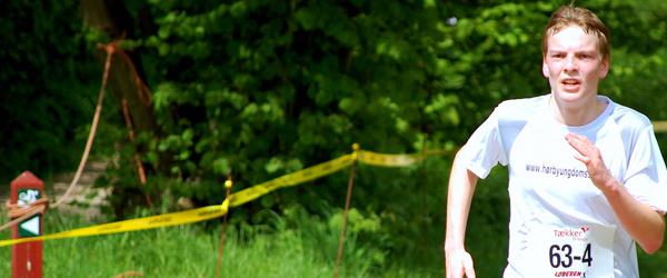 Stafet og maratontræning på Hørby Ungdomsskole