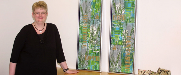 Tidligere Østervrå-pige udstiller i Nordjyske Bank