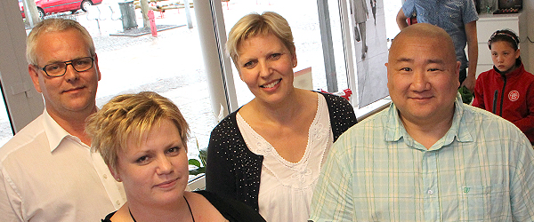Uhørt våd reception for Budolfi Høreklinik