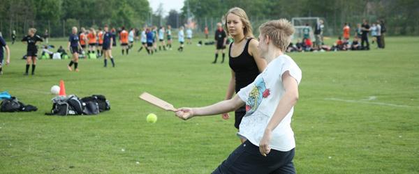 Vejret er med Stidsholt til idrætsdag på Skjold