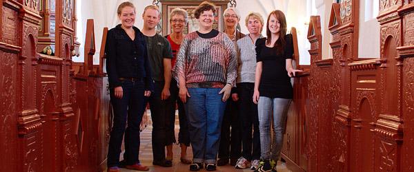 Gammelt og nyt i skøn forening i Volstrup Kirke
