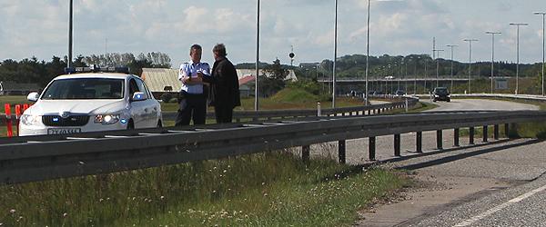 Solouheld førte til lang kø på E45 ved Vangen
