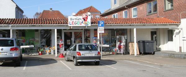 Birthe's Legeland solgt til Sæby Bøger & papir