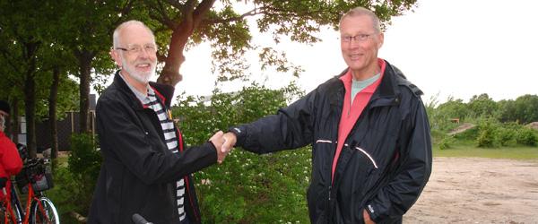 Gert Olesen vandt ny cykel til Tour de Pedal