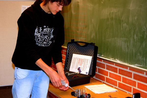 I brintbil til naturfagsprøve på forsøgsbasis