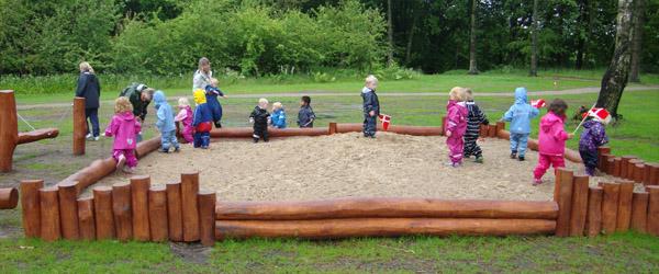 Naturlegepladsen i Nellemanns Have er et hit!