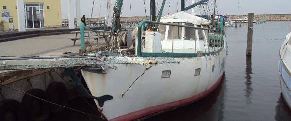 Evangeliseringsbåd ankommer til Sæby Havn