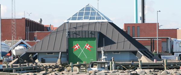 Redningsbåden fra Sæby i aktion i aftes
