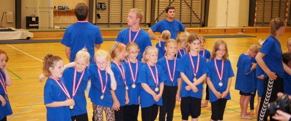 Populær gymnastikskole med mange aktiviteter