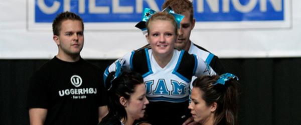 Sæbynit fik sølvmedalje til EM i cheerleading