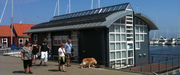 Nye beboere på husbåden i Sæby Havn