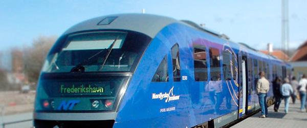 Oplev naturen mellem Fr.havn og Skagen med tog